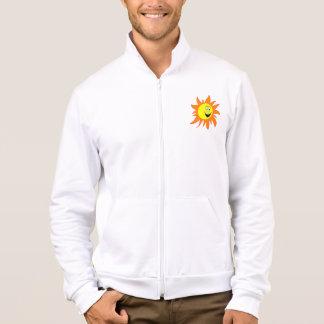 Hot Smiling Sun Printed Jacket