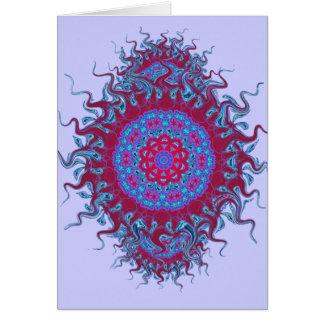 Hot Snowflake Blank Card