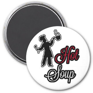 Hot Soup Magnet