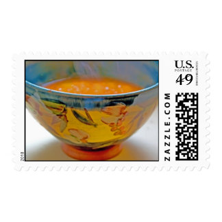 Hot Soup Postage Stamp