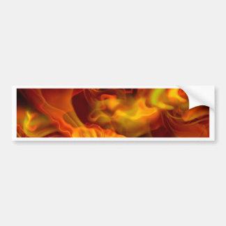 hot space bumper sticker