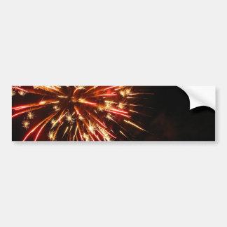 Hot Sparks Car Bumper Sticker