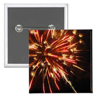 Hot Sparks Pinback Button