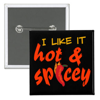 Hot & Spicey button