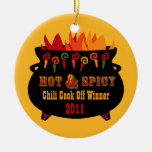 Hot & Spicy Chili Cook Off Ornament