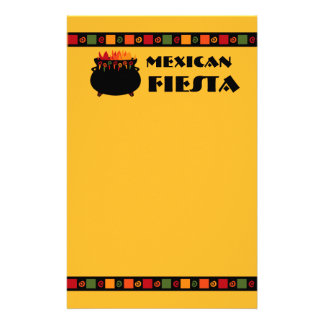 Hot & Spicy Fiesta Stationery