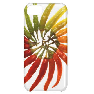 hot spicy pepper art iPhone 5C cover