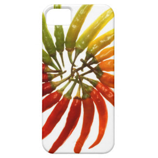 hot spicy pepper art iPhone SE/5/5s case