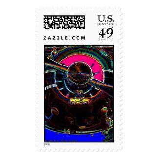 Hot Spinner Postage Stamp