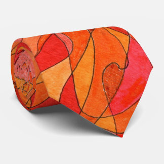"""Hot Spot"" Abstract Design Tie"