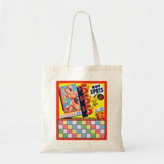 Hot Spot Pin Up Punch Board Vintage Kitsch Tote Bag