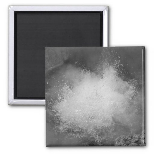 Hot spring 2 inch square magnet