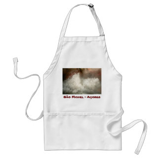 Hot spring in Azores Adult Apron