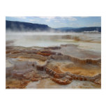 Hot Spring In Yellowstone Postcard