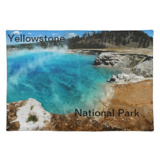 Hot Spring Pond Cloth Placemat