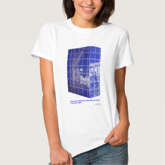 Hot Springs, AR BlueTile Reflection Gifts Apparel Shirt