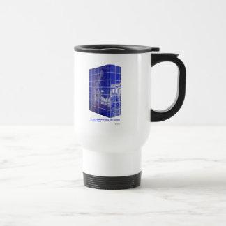 Hot Springs, AR BlueTile Reflection Gifts Apparel Travel Mug