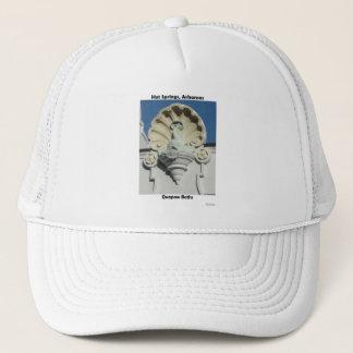 Hot Springs, AR Fish Shell Quapaw Gifts Apparel Trucker Hat