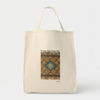Hot Springs, AR Quapaw Dome Tiles Gifts Apparel Tote Bag