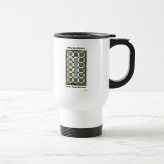 Hot Springs, AR The Maurice Tiles Gifts Apparel Travel Mug