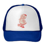Hot Springs Bathers Baseball Tee Mesh Hat