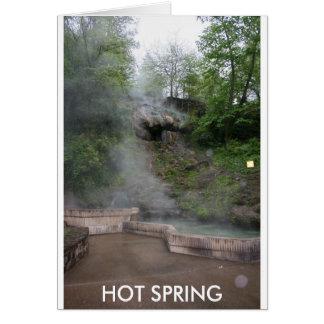 HOT SPRINGS CARD