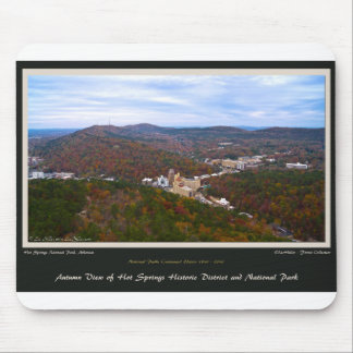 Hot Springs City and National Park Centennial Ed Mouse Pad