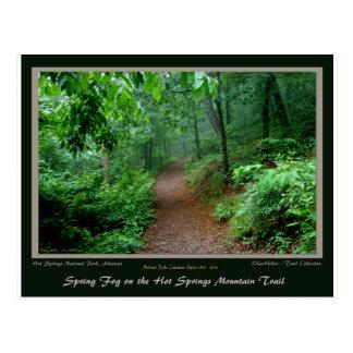 Hot Springs Mt Trail National Park Centennial Ed Postcard