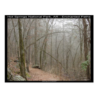 Hot Springs National Park, AR - Enchanted Paths Postcard