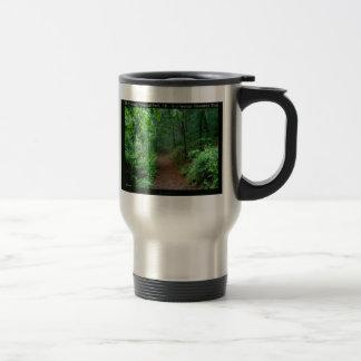Hot Springs National Park, AR Fading Fog Gifts Travel Mug