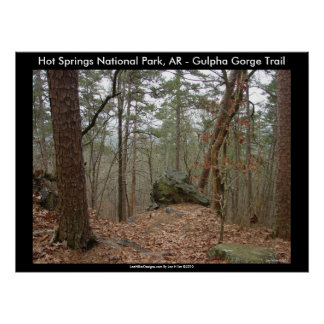Hot Springs National Park, AR - Gulpha Gorge Posters