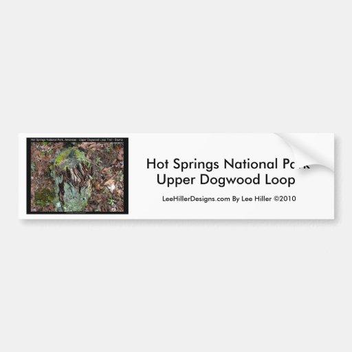 Hot Springs National Park, AR Upper Dogwood Loop Car Bumper Sticker