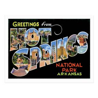 Hot Springs National Park Arkansas Travel US City Postcard