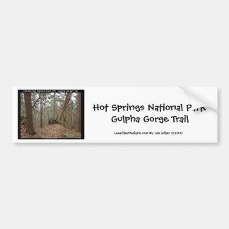 Hot Springs National Park Gulpha Gorge Trail Bumper Sticker