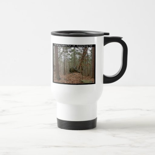 Hot Springs National Park Gulpha Gorge Trail Mug