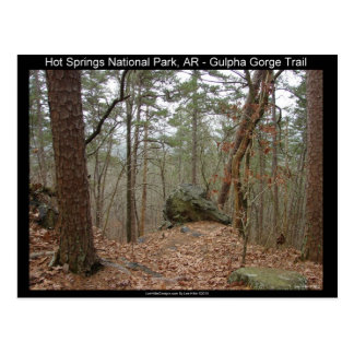 Hot Springs National Park Gulpha Gorge Trail Postcard