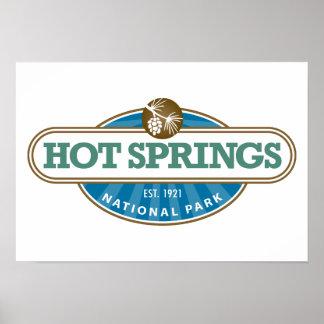 Hot Springs National Park Poster