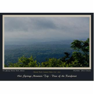 Hot Springs National Park Rainforest Centennial Ed Cutout