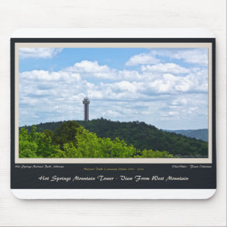Hot Springs National Park Tower Centennial Ed Mouse Pad
