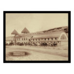 Hot Springs Plunge Bath House SD 1891 Poster
