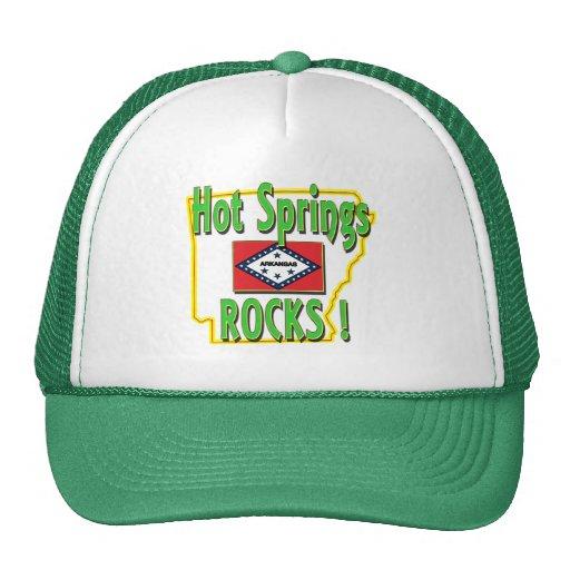 Hot Springs Rocks ! (green) Trucker Hat