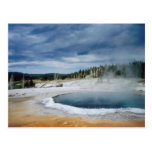 Hot Springs-Yellowstone Postcard