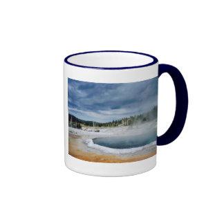 Hot Springs-Yellowstone Ringer Mug