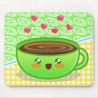 Hot Steamy Coffee Mousepad