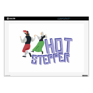 Hot Stepper Laptop Decal