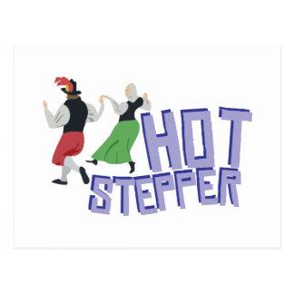 Hot Stepper Postcard