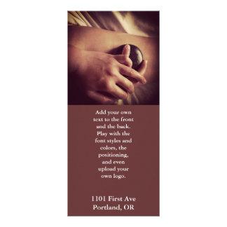 Hot Stone Massage Photo Custom Rack Cards