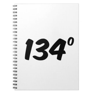 Hot Stuff 134 Degrees Witty Notebook
