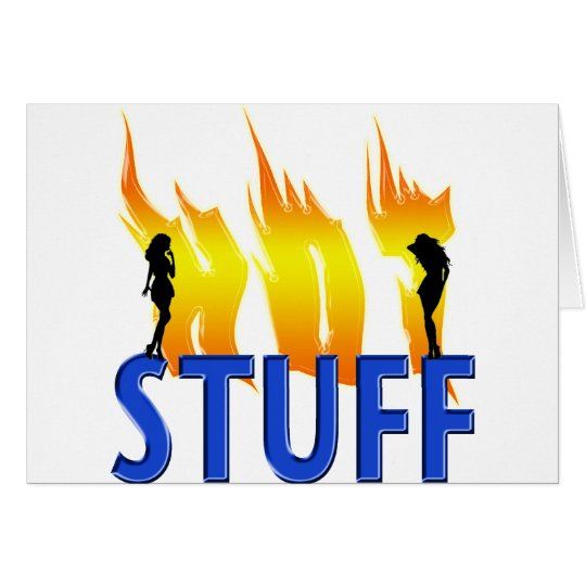 Hot Stuff and Flames Card