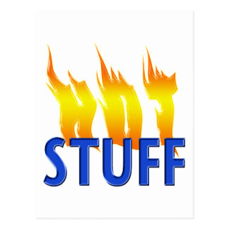 Hot Stuff and Flames Postcard